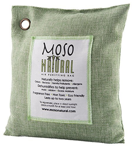 Moso Natural Air Purifying Bag, 500gm, Green