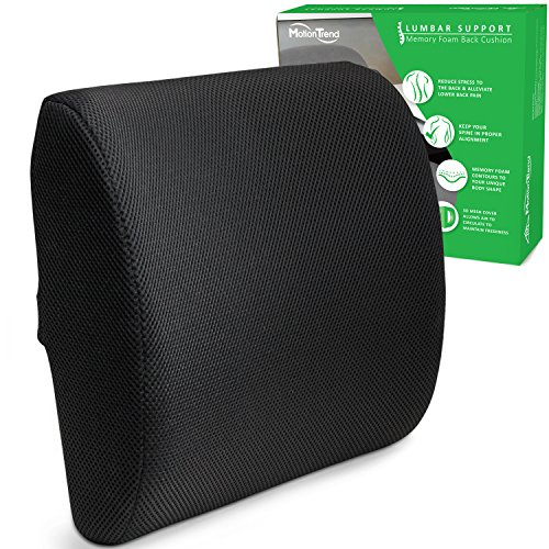 Motion Trend Lumbar Support - Bamboo Charcoal Memory Foam