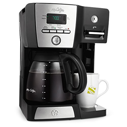 $49.99 Mr. Coffee BVMC-DMX85 12-Cup Programmable Coffeemaker with Integrated Hot