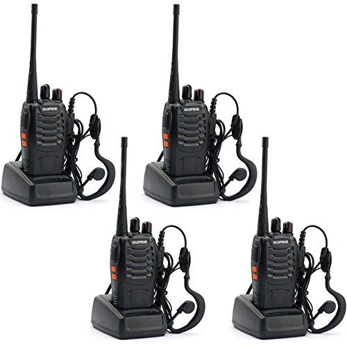 BAOFENG BF-888S Walkie Talkie with Built in LED Torch