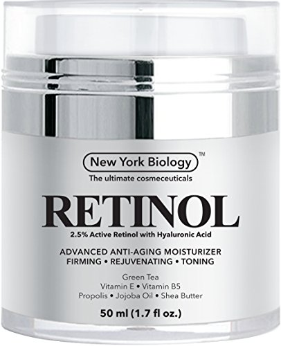 Retinol Cream Moisturizer with Hyaluronic Acid - Daily Moisturizing