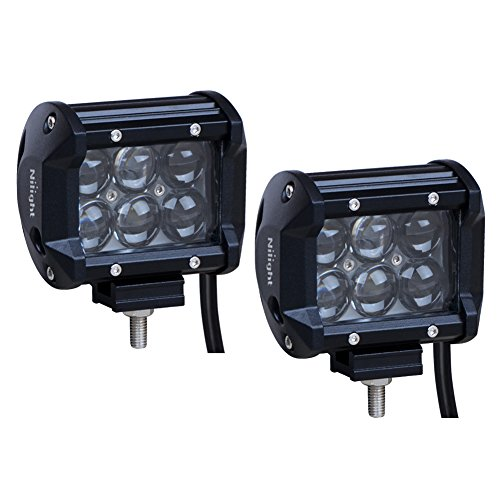 Nilight 2PCS 18w LED Work Light Spot LED Light