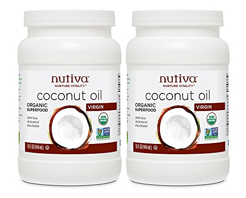 Nutiva Organic Virgin Coconut Oil, 15 Ounce (Pack of