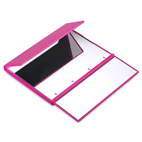 ONSON Tri-Fold Lighted Led Travel Mirror Compact for Cosmetic