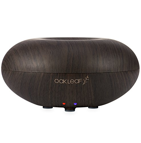 Essential Oils Diffuser, Oak Leaf Portable Electric Essential Oil