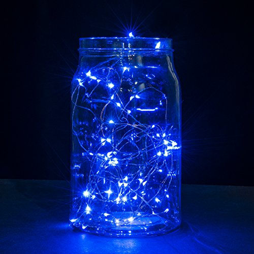 Copper Wire LED String Lights, Oak Leaf 2 Set