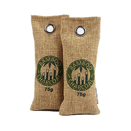 Ohuhu [Set of 2, 75g] Natural Air Purifying Bags