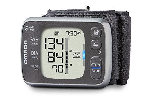 $51.50 Omron 7 Series Wireless Wrist Blood Pressure Monitor (Model