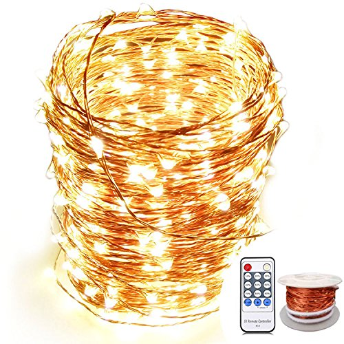 OrgMemory Copper LED Fairy Lights, (80 Ft, 240 Leds
