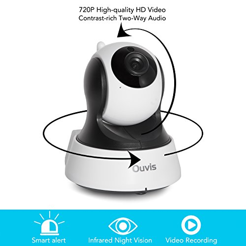 Ouvis V3 Wireless Security Camera, 720P WiFi IP Camera