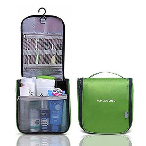 P.KU.VDSL® Toiletry Bags, Hanging Toiletry Kit, Multifunction Waterproof Toiletry