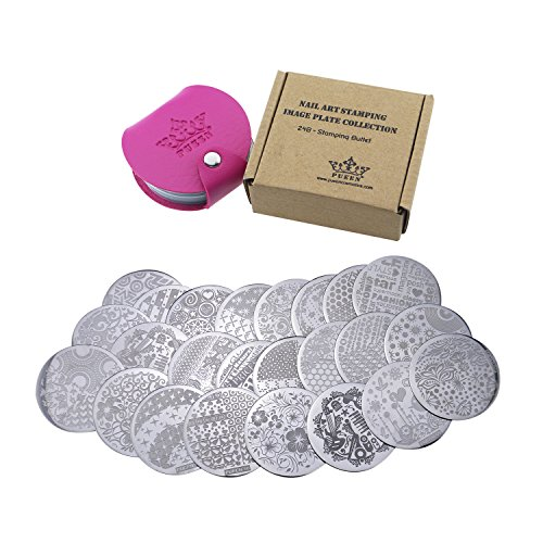 PUEEN Nail Art Stamp Collection Set 24B - STAMPING