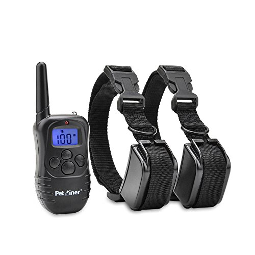 $39.99 Petrainer IS-PET998DR2 330 yd Remote Dog Training E-Collar, 7.67