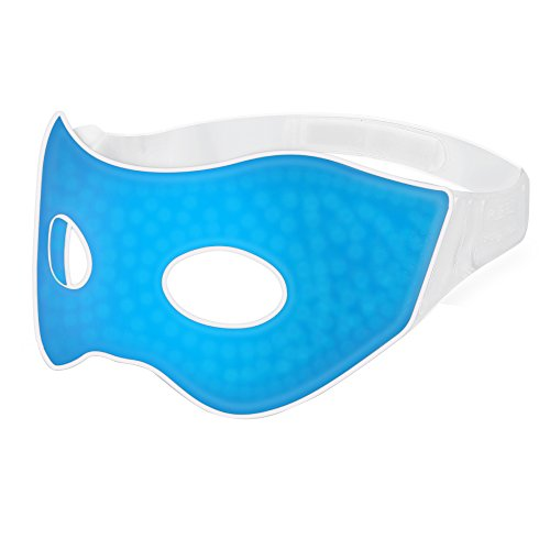 PLEMO Sleep Mask, Ultra-Soft Gel Beads Eye Shade Cool