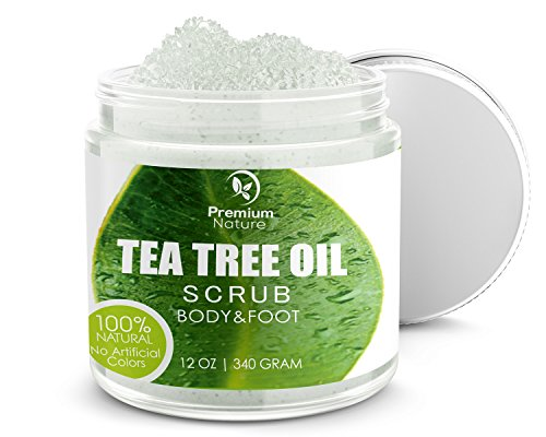 Antifungal Tea Tree Body  Foot Scrub - 12