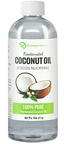 Fractionated Coconut Oil 32 oz Skin Moisturizer, Natural Carrier