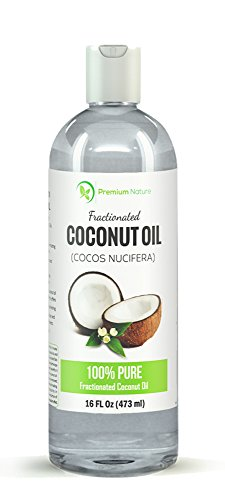 Fractionated Coconut Oil, Skin Moisturizer, Natural Carrier Oil, Therapeutic