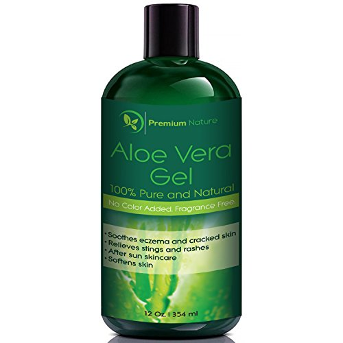Premium Nature Aloe Vera Gel for Face Body