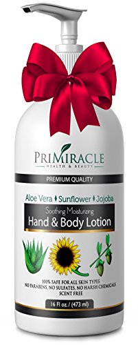 Unscented Hand and Body Lotion with Shea Butter and