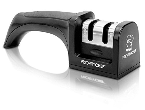 PriorityChef Knife Sharpener, 2 Stage Sharpening System for Knives