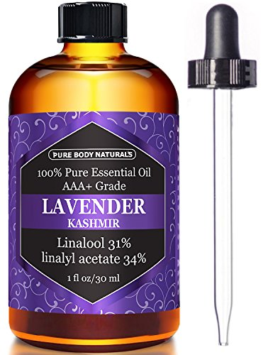 Lavender Essential Oil, Triple AAA+ Grade, 100% Pure and