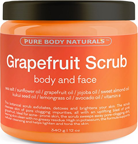 Grapefruit Scrub for Face and Body - Facial Scrub