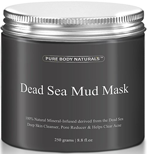 Pure Body Naturals Beauty Dead Sea Mud Mask for