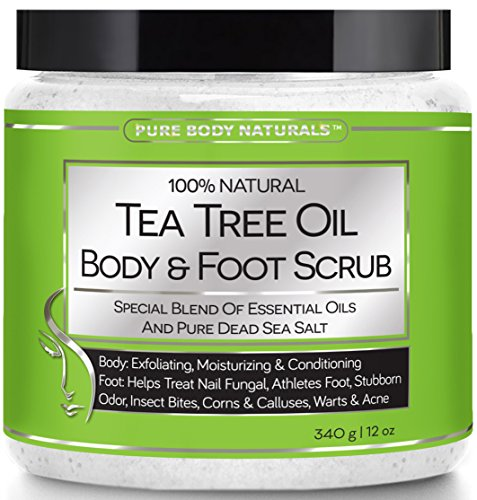 Pure Body Naturals Tea Tree Oil Body and Foot