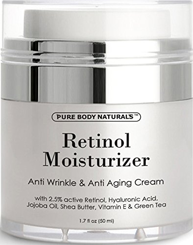 Retinol Cream Moisturizer for Face with active hyaluronic acid