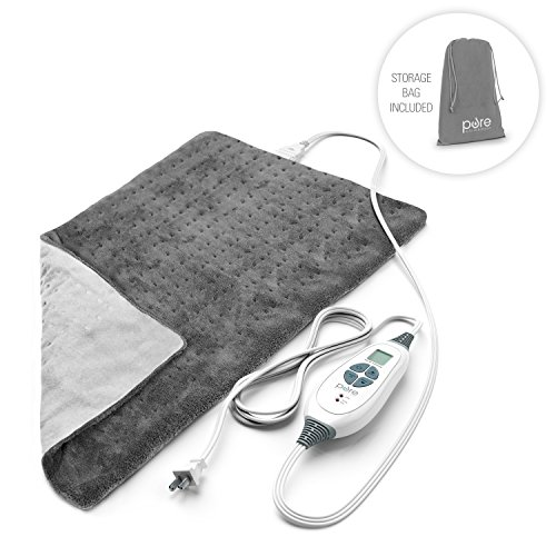 PureRelief XL - King Size Heating Pad with Fast-Heating