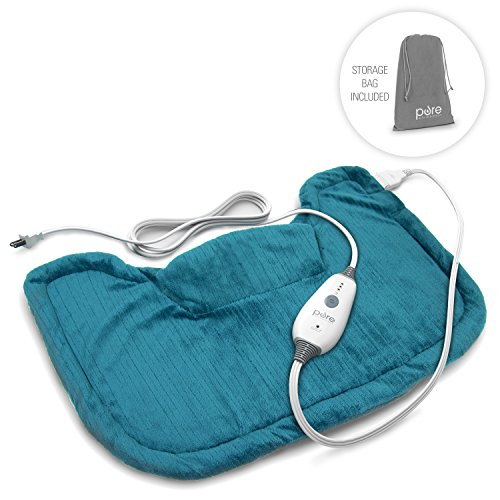 PureRelief Neck  Shoulder Heating Pad with Fast-Heating Technology