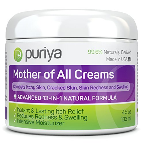 Puriya Cream For Eczema, Psoriasis, Rosacea, Dermatitis, Shingles and