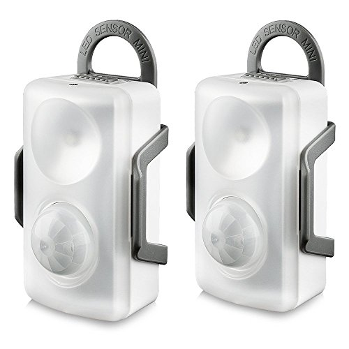 [2 Pack] QPAU LED Motion Sensor Light, Portable LED
