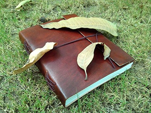 QualityArt Leather Journal Leather Notebook Diary Sketchbook Travel Blank