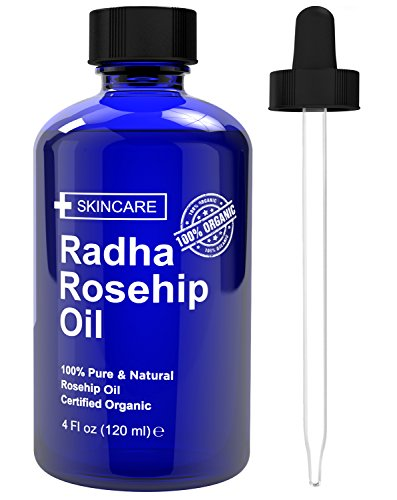 Radha Beauty Rosehip Oil 4 oz - 100% Pure