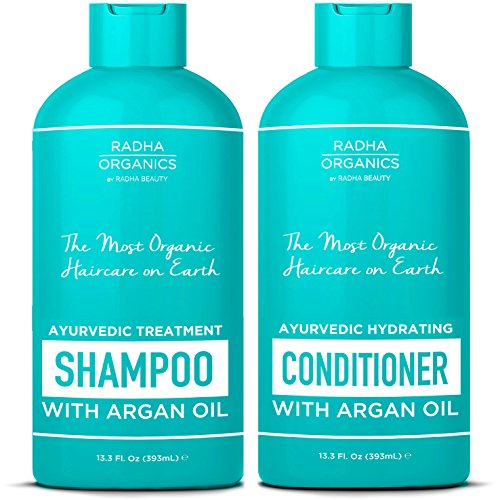Radha Organics Shampoo and Conditioner set for Men