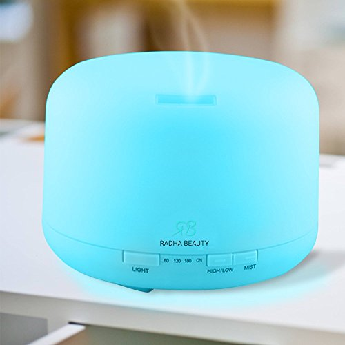 500 ml Essential Oil Diffuser for Aromatherapy - Cool