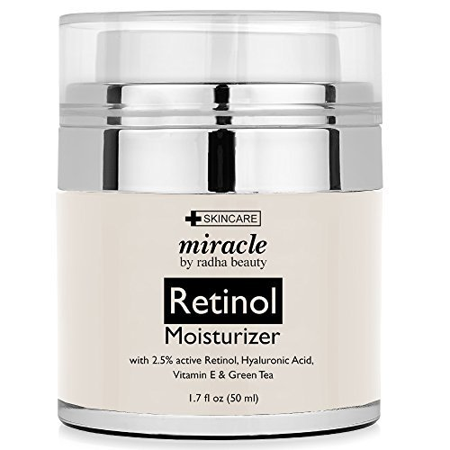 Radha Beauty Retinol Moisturizer Cream for Face,1.7 Fl. Oz