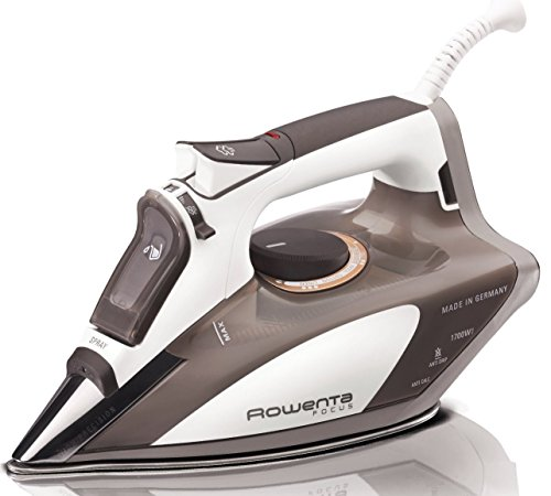 Rowenta DW5080 Focus 1700-Watt Micro Steam Iron Stainless Steel