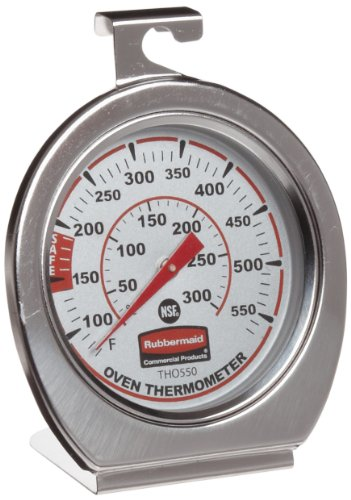 $5.92 Rubbermaid Commercial FGTHO550 Stainless Steel Oven Monitoring Thermometer