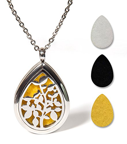 1 Top Rated Aromatherapy Essential Oil Diffuser Necklace Jewelry
