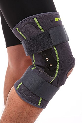Senteq Hinged Knee Brace. Medical Grade and FDA Approved