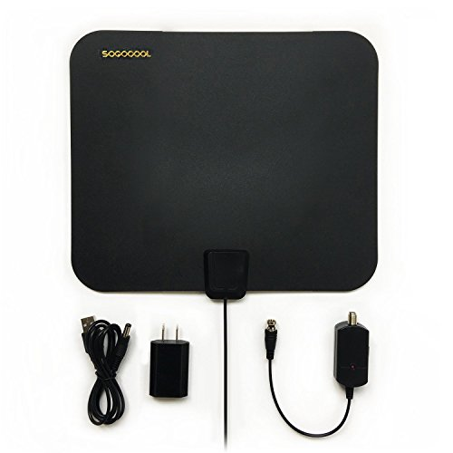 HDTV Antenna indoor - 50 Mile Range with Detachable