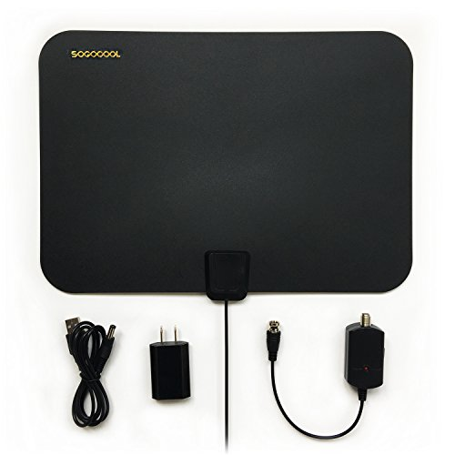 NEW HDTV Antenna Indoor, 30- 50 Mile Range with