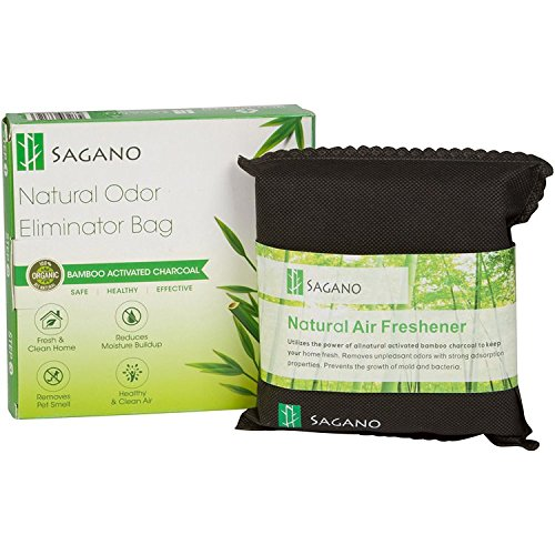 Activated Charcoal Home Odor Eliminator Bag By Sagano -