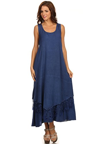 Sakkas 15222 - Emma Relaxed Fit Scoop Neck Double