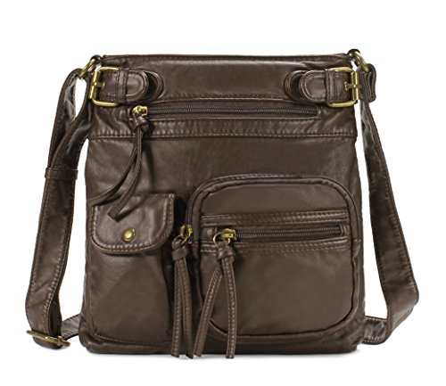 Scarleton Accent Top Belt Crossbody Bag H183321 - Coffee
