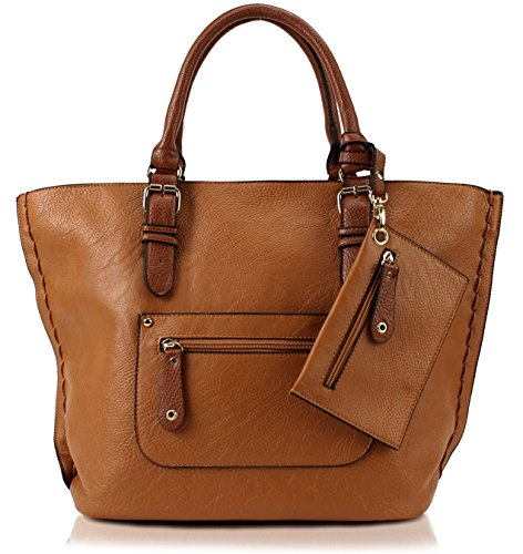 Scarleton Large Tote H103504 - Brown