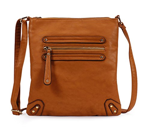 Scarleton Chic Crossbody Bag H155925 - Camel