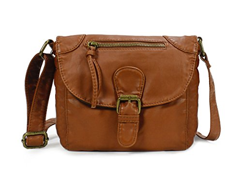 $22.99 Scarleton Trendy Vintage Crossbody Bag H179804 - Brown